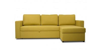 Диван угловой Порту Textile Yellow