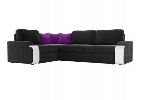 Черно-фиолетовый