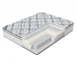 Матрас Verda Cloud Pillow Top (Silver Lace/Anti Slip) 80x195